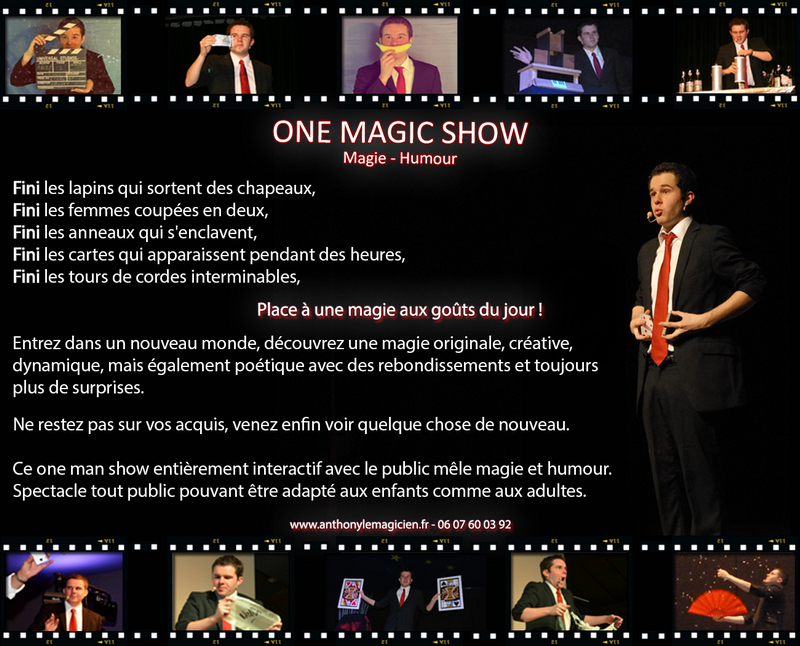 Anthony Le Magicien - One Magic Show